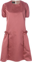 Rochas flared dress - women - Polyester/Cupro - 40