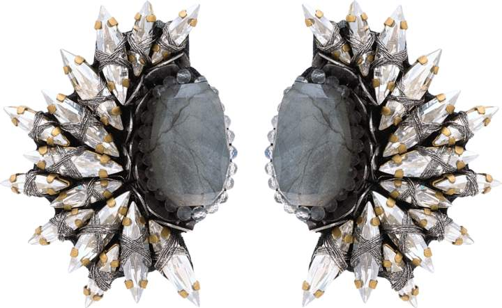 Deepa Gurnani Kaila Clip-on Earrings