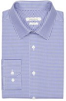 Perry Ellis Slim Fit Coastal Gingham Dress Shirt