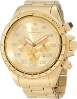 Vestal Men's ZR3020 ZR-3 Brushed Gold Chronograph Watch