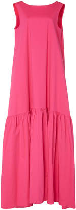 Co Sleeveless Stretch-Cotton Maxi Dress