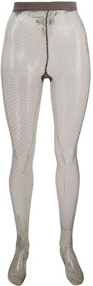 Wolford 66 Diamond Fishnet tights