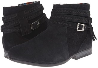 Minnetonka Dixon Boot (Black Suede) Women's Zip Boots