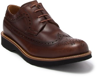 Bugatchi Sorrento Wingtip Leather Derby