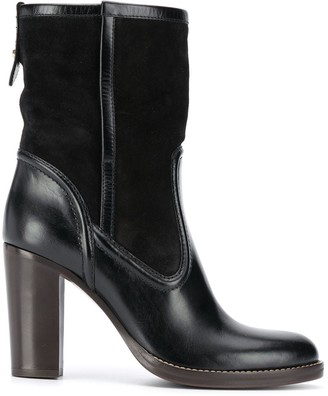 Chloé Leather High Heeled Boots