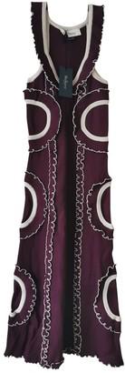 Mulberry Burgundy Dress for Women