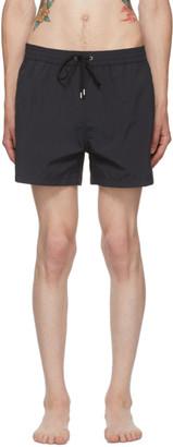 Paul Smith Black Striped Swim Shorts
