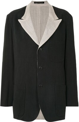 Yohji Yamamoto Reversible Jacket