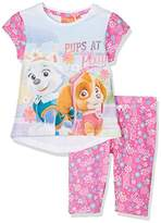 Nickelodeon Girl's Pat-8905 Pyjama Sets,(Manufacturer Size:4 Years)