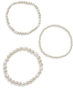 BaubleBar Sophia Bracelets, Set of 3