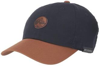 Columbia Chill Rivertm Ball Cap (Collegiate Navy/Caramel/Round Patch) Caps