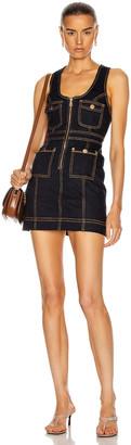 Alice McCall Club Noir Mini Dress in Indigo | FWRD