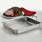 Tramontina Gourmet Prima 13.5 in. Roasting Pan with Basting Grill