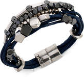 Kenneth Cole New York Two-Tone Multi-Row Cord Bracelet