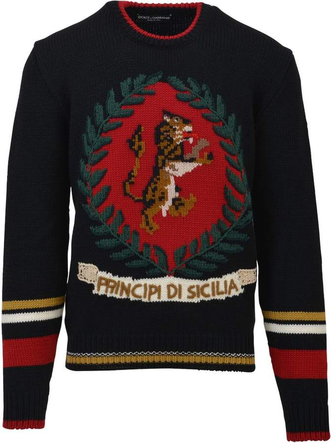 Dolce & Gabbana Embroidered Sweater