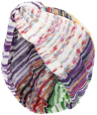 Missoni Mare Chevron-knit turban
