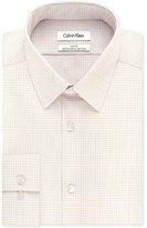 Calvin Klein STEEL Slim-Fit Non-Iron Performance Multi Check Dress Shirt