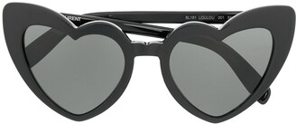 Saint Laurent Eyewear Heart Frame Sunglasses