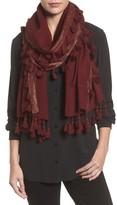 Eileen Fisher Women's Metallic Wool Wrap