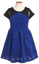 Blush by Us Angels Girl's Cutout Dress