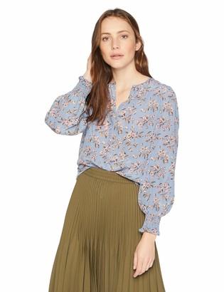 Rebecca Taylor Women's Long Sleeve Tilda Silk Top