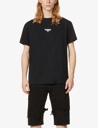 Boy London Melt print cotton-jersey T-shirt