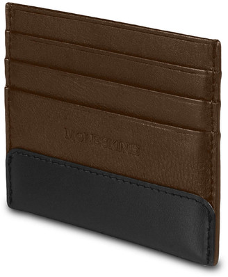 Moleskine Brown Classic Leather Card Wallet