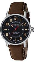 Wenger Unisex Quartz Watch with Chronograph Quartz 01.0341.108
