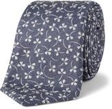 Canali Silk Floral Tie