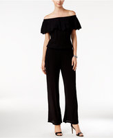 INC International Concepts Off-The-Shoulder Wide-Leg Jumpsuit, Only at Macy's