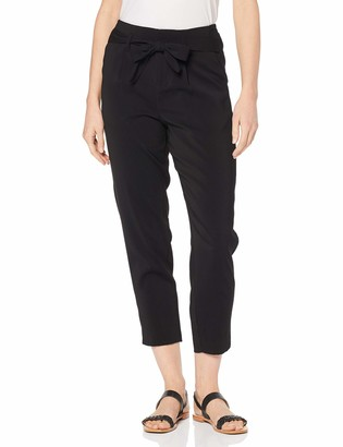 Saint Tropez Women's Belted Pant Cropped Length Trouser