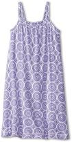 Hatley Deep Purple Mosaic Shirred Dress (Toddler/Little Kids/Big Kids)