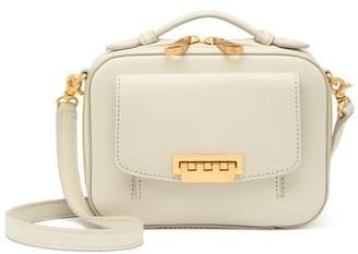 Zac Posen Earthette Mini Box Leather Crossbody Bag