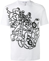 Comme des Garcons printed T-shirt - men - Cotton - S