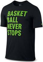 Nike Short-Sleeve Basketball Never Stops Tee