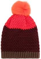 Etro beanie hat with pom-pom