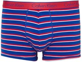 Calvin Klein Striped Stretch Cotton Boxer Briefs
