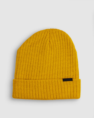 ONEBYONE - Yellow Beanies - Bobby Beanie - Size One Size at The Iconic