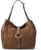 MICHAEL Michael Kors Quincy Large Shoulder Bag, Dark Caramel