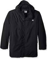 Champion Men's Removable Hood Synthetic Down Parka-Big Sizes, Graphite Heather