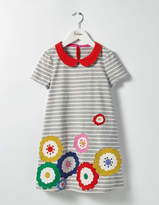Boden Fun Appliqué Jersey Dress