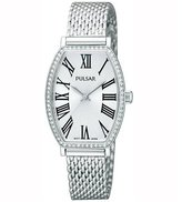 Pulsar PH8069 24mm Steel Bracelet & Case Mineral Women's Watch
