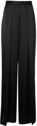 Kiki de Montparnasse Pleated Wide Leg Trousers