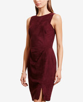 Lauren Ralph Lauren Faux-Suede Dress
