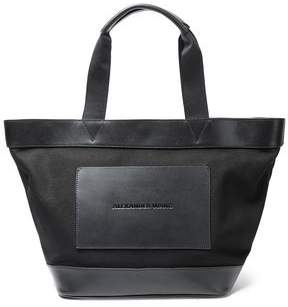 Alexander Wang Leather-trimmed Canvas Tote