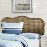 Beachcrest Home Willow Panel Headboard Size: Full, Color: Gray
