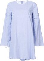 Tibi striped shift dress - women - Cotton - 6
