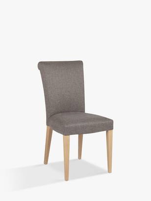 John Lewis & Partners Evelyn Upholstered Chair, Vietto Grey, FSC-Certified (Ash)