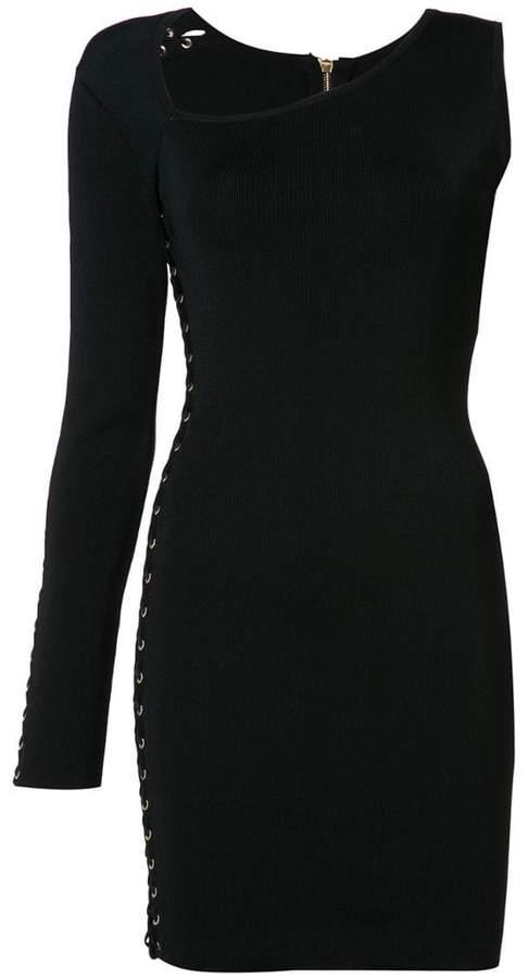e8b9242c Balmain Black One Shoulder Dresses - ShopStyle