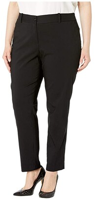 MICHAEL Michael Kors Size Stretch Miranda Pants (Black) Women's Casual Pants